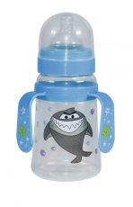 Lorelli dojčenská fľaša so širokým hrdlom a držiakmi 250 ml