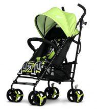 Mama Kiddies Mignon full extra športový kočík skladateľný na dáždnik v zelenej farbe + darček