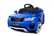 Modré elektronické športové auto s diaľkovým ovládaním