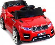 Happy Child červené športové terénne auto a diaľkovým ovládaním