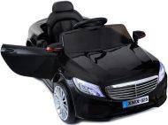 Čierne športové elektrické autíčko s diaľkovým ovládaním  (luxury edition)