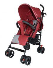 Mama Kiddies Mignon full extra športový kočík skladateľný na dáždnik v červenej farbe + darček
