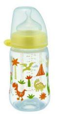 NIP cumlíková fľaša plastová PP milk bottle 260 ml