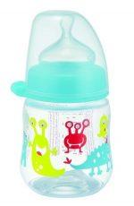 NIP cumlíková fľaša plastová PP milk bottle 150 ml -chlapec