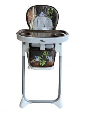 Mama Kiddies ProComfort NewLine multifunkčná jedálenská stolička hnedá so vzorom koala + Darček