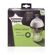 TOMMEE TIPPEE Dojčenská fľaša C2N Anti-Colic 2 ks 260 ml