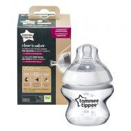Tommee Tippee dojčenská fľaša150ml so sovou (sivá)