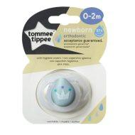 Tommee Tippee Newborn 0-2m cumlík silikónový na hranie a spanie 1ks (ZELENÝ)