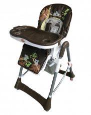 MamaKiddies ProComfort multifunkčná stolička na kŕmenie hnedá so vzorkou koala + Darček