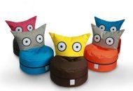 OWL detský sedací vak rozkošné tvory (vo viacerých dostupných farbách)