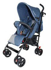 Mama Kiddies Mignon full extra športový kočík skladateľný na dáždnik v modrej farbe + darček