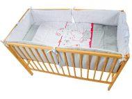 My Zoo Red - posteľná súprava 4 + 1 diel