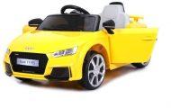 Audi TT RS Roadster elektrické autíčko s diaľkovým ovládaním žlté ( s dvojitým motorom akumulátorom)