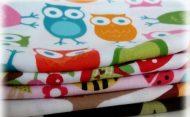 Kvalitné textilné plienky 1 ks (vo viacerých farebných prevedeniach)