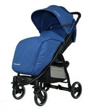 Mama Kiddies Aqua športový kočík v modrej farbe + DARČEKY: nánožník a pláštenka