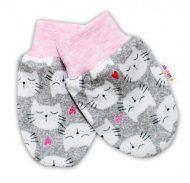 Nellys detské rukavičky proti škriabaniu - dievčenské