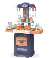 29 kusová MamaKiddies  Effluent Kitchent detská kuchynka - v modrej farbe