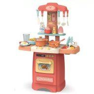 29 kusová Mama Kiddies  Effluent Kitchent detská kuchynka - v ružovej farbe
