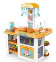 55 kusová Mama Kiddies HomeKitchen set detská kuchynka - v oranžovej farbe