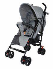 Mama Kiddies Mignon full extra športový kočík skladateľný na dáždnik v sivej farbe + darček