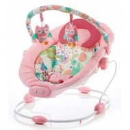 Baby Mix detské oddychové lehátko vibrujúce - pink