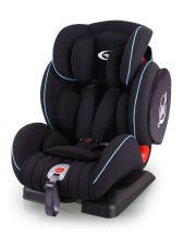 Detská bezpečnostná autosedačka MamaKiddies Angel Wings (9-36kg), farba čierna