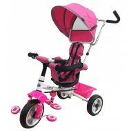 Baby Mix Detská trojkolka RAPID premium ružová