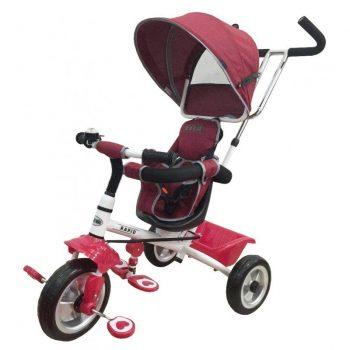 Baby Mix Detská trojkolka RAPID premium červená