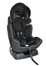 Detská bezpečnostná autosedačka MamaKiddies Baby Extra Plus (0-36kg), farba čierna+ darček clona proti slnku