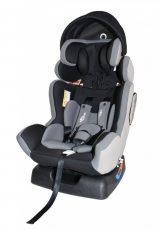 Detská bezpečnostná autosedačka Mama Kiddies Baby Extra Plus (0-36kg), farba sivá+ darček clona proti slnku