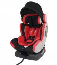 Detská bezpečnostná autosedačka Mama Kiddies Baby Extra Plus (0-36kg), farba červená+ darček clona proti slnku