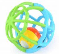 Rozvojová hračka guľa modro zelená