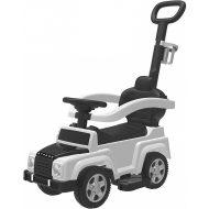 Terénne auto-odrážadlo s vodiacou tyčou a slnečnou clonou