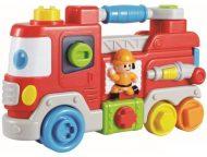 Baby Mix hudobné hasičské auto