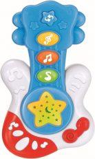 Baby Mix hudobná gitara v modrej farbe
