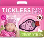 TickLess Baby ultrazvukový odpudzovač kliešťov- ružový
