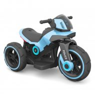 Modrá elekronická motorka