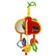 Baby Mix pripínacia plyšová hračka s hryzátkom