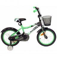 """Baby Mix zelený bicykel (14"""") s košíkom ako darček"""
