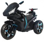 Čierna elektronická motorka