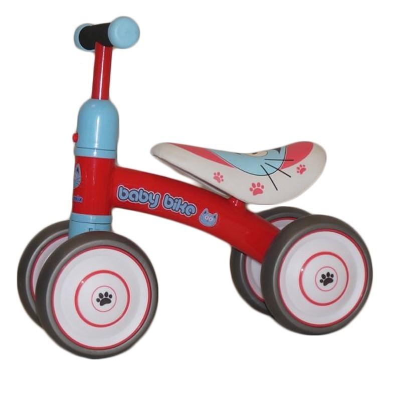 ac2b5658d Červený štvorkolesový bicykel -odrážadlo - Detské kočíky, detské ...
