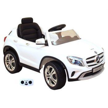 Mercedes-Benz GLA elektrické auto s diaľkovým ovládaním - biele