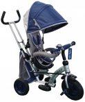 Baby Mix detská trojkolka 360 Turbo otočným sedadlom o 360° - modrá