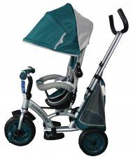 Baby Mix detská trojkolka 360 Turbo otočným sedadlom - zelená
