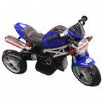 Trojkolesová elektrická motorka - modrá