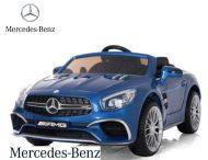 Modré auto Mercedes-Benz AMG s diaľkovým ovládaním