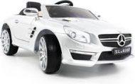 Biele auto Mercedes-Benz AMG s diaľkovým ovládaním