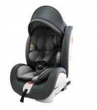 Detská autosedačka Mama Kiddies Rotary s 360° otáčaním (0-36kg) s ISOFIX systémom, v sivej farbe + darčeky