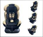 Detská bezpečnostná autosedačka Mama Kiddies Safety Star (0-25 kg), farba béžová