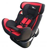 Detská bezpečnostná autosedačka MamaKiddies Safety Star (0-25 kg), farba červeno-čierna